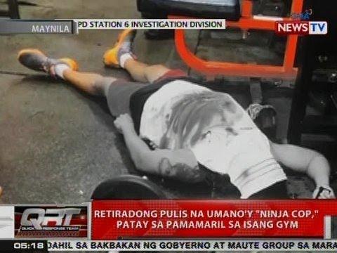 QRT: Retired pulis na umano'y 'Ninja Cop,'...