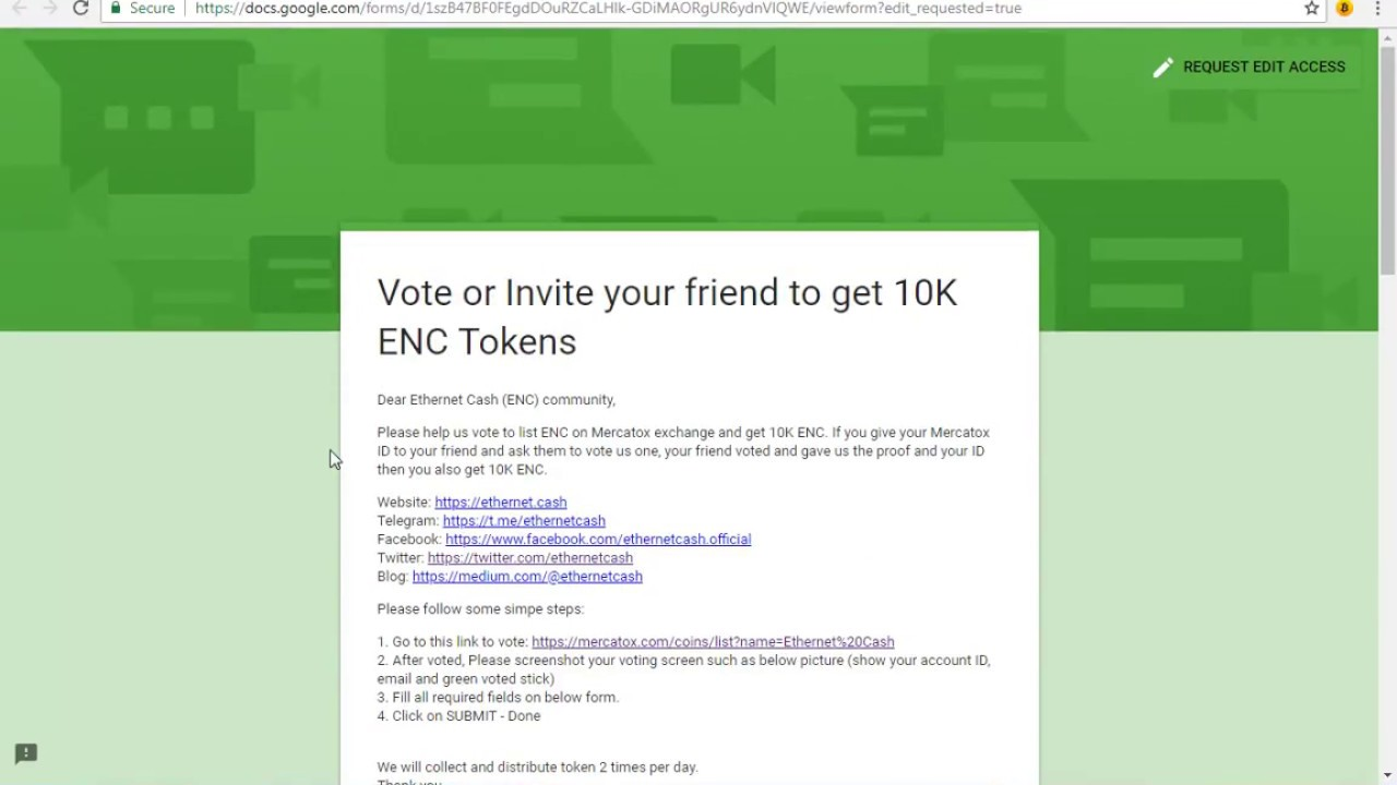 HOW TO VOTE ON MERCATOX||ENC VOTING & COMIKETCOIN||2 NEW AIRDROPS