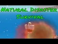Roblox Natural Disaster Survival Funny Moments #1