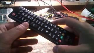 Простой ремонт пульта от телевизора LG 42LB561V