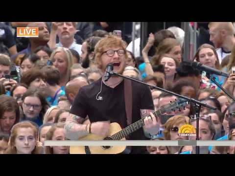 Ed  Sheeran -  Shape of you (live ) Creative Music Box