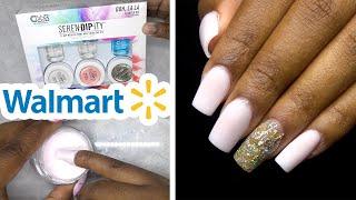 DIY Testing Dip Powder Nail Kit from Walmart