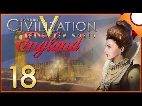 Civilization V Brave New World as England - Episode 18 ...Peace at Last...