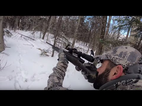Tracking The Snap Buck: Everything It Takes To Shoot A Big Buck Hunting On Snow!