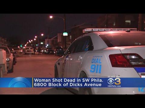Police: Woman Killed In Southwest Philadelphia Shooting, Arrest Made