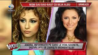 WOWBIZ (26.10.2017)  - Secretele din cariera Andrei si relatia cu Maruta! Partea II