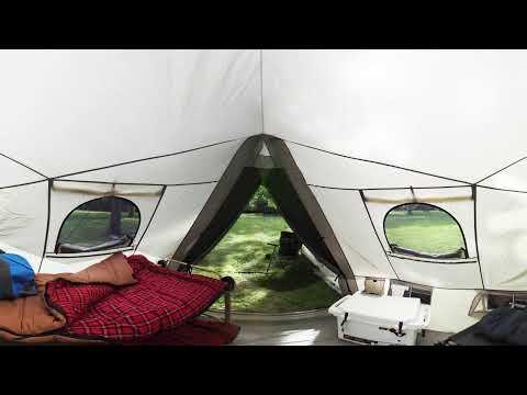 Cabelau0027s Big horn III 12-ft. x 14-ft. Tent | 360 & Cabelas Big Horn III Tent - First Look u0026 Measurements
