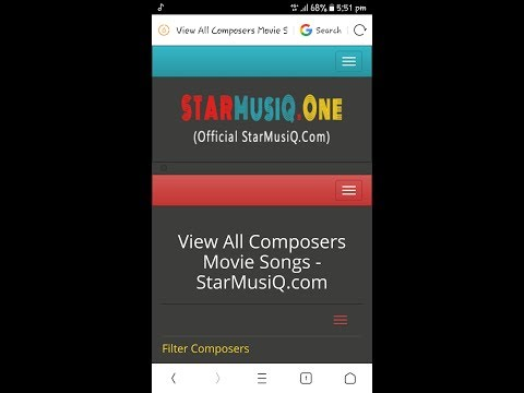 How To Download Starmusiq.com Mp3 Tamil Latest New Song Download On Your Android Mobile Phones