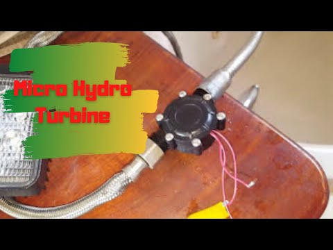 Testing micro Hydro power turbine Ac output?