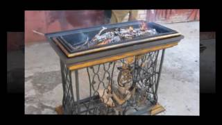 Vintage Sewing Machine DIY Furniture Ideas  Recycled Old Sewing Machines Ideas
