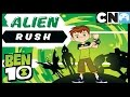 Juego de Ben 10 | Alien Rush | Cartoon Network