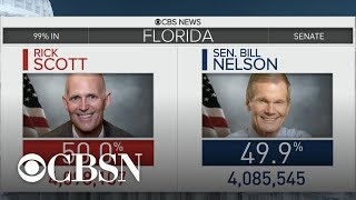 """Bill Nelson calls for Rick Scott to recuse himself from """"any role"""" in Florida recount"""