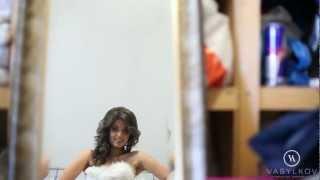 Бэкстейдж фотосесии свадебных платьев от Vasylkov