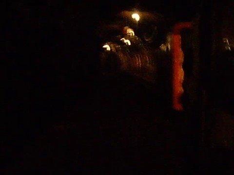tourist mine underground train