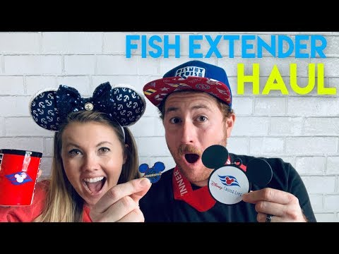 Fish Extender/Souvenir Haul From Our Disney Cruise