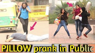 Pillow Prank In Public - BALA CHALLENGE || Pranks in india || MindlessLaunde