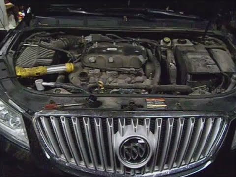 Buick Lacross 2010 W 3 6l Pt 2 Water Pump Install Youtube