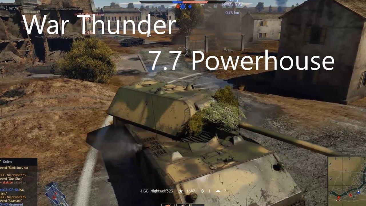 7.7 Powerhouse - War Thunder Replays