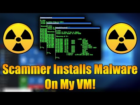 Scammer Installs MALWARE On My Virtual Machine | INSANE RAGE | Tech Support Scammer Trolling