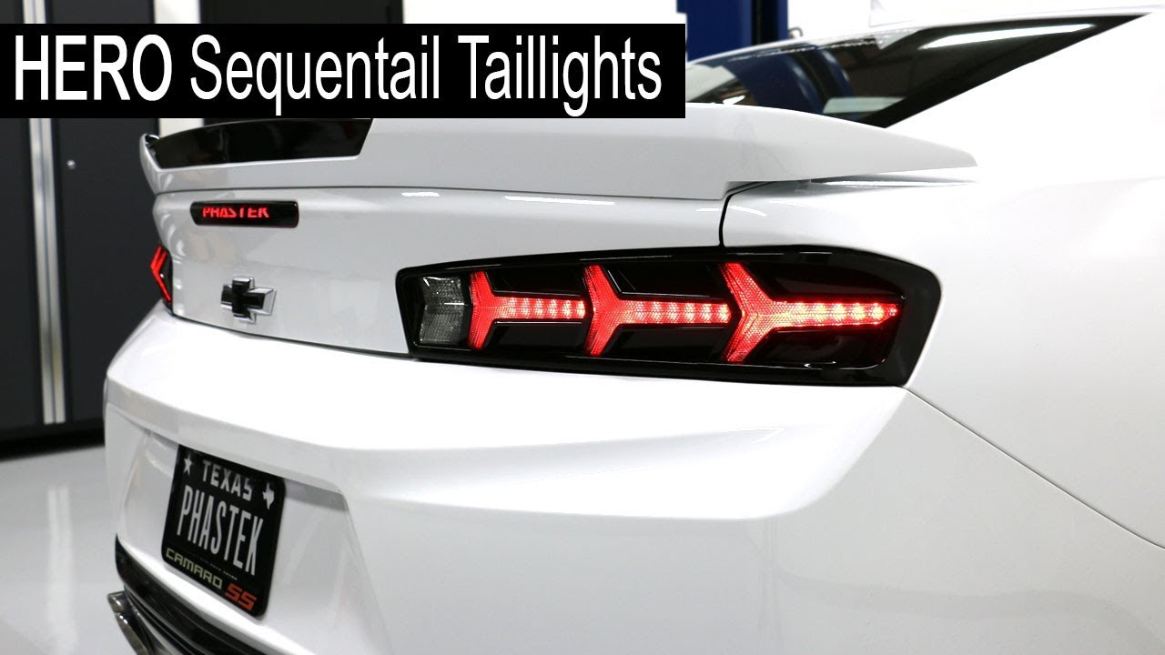 Hero Sequential Taillights Installation Phastek Performance