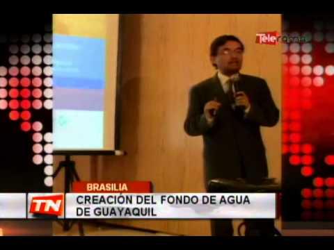 Creación del fondo de agua de Guayaquil