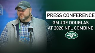 Joe Douglas NFL Combine Press Conference (2/25) | New York Jets | NFL