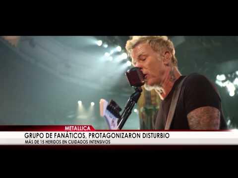 Grupo de fanáticos de Metallica en Uruguay protagonizan disturbio