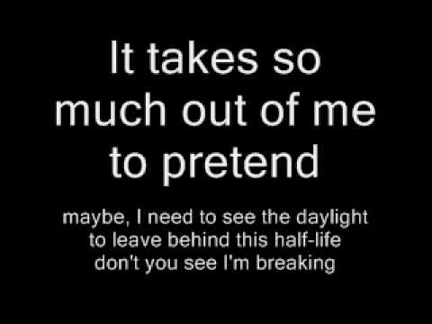 HalfLife Duncan Sheik with lyrics
