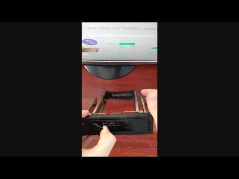 """Внутрішня кишеня Maiwo 5.25"""" для HDD 3.5"""" SATA з замком (M002A)"""