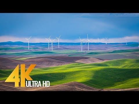 "4K Nature Documentary Film ""Beautiful Washington"" - Episode 6 (No Voice Over) - 2 HRS"