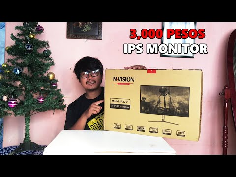 NVISION IP22V1 1080P MONITOR 75Hz | UNBOXING AND REVIEW