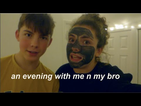 VLOG - An Evening In My Exciting Life *featuring My Brother*