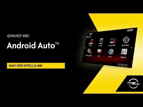 Navi 900 IntelliLink | Android Auto™ | Gewusst wie!