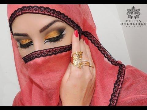 Maquiagem Árabe!