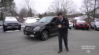 2011 Mercedes-Benz M-Class ML63 AMG® 4matic® video tour with Mike