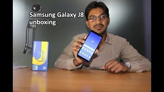 Samsung Galaxy J8 2018 Unboxing and First Look | Pakistan