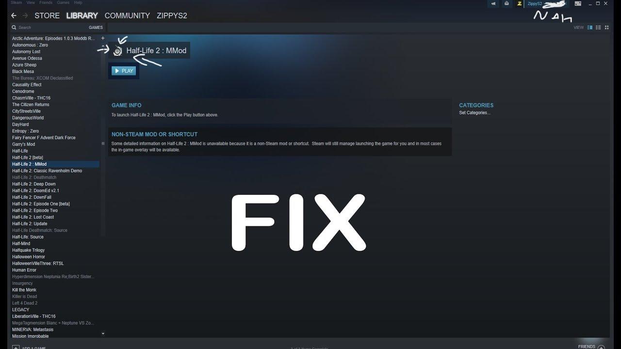 Half-Life 2 MMod launching crash fix