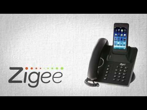 The Zigee Phone Docking Station: Mobile Phone To Desk Phone