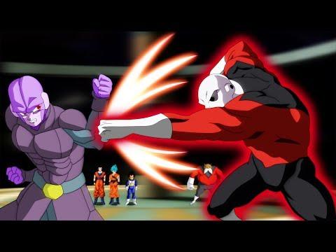 Jiren VS Hit in the Tournament of Power