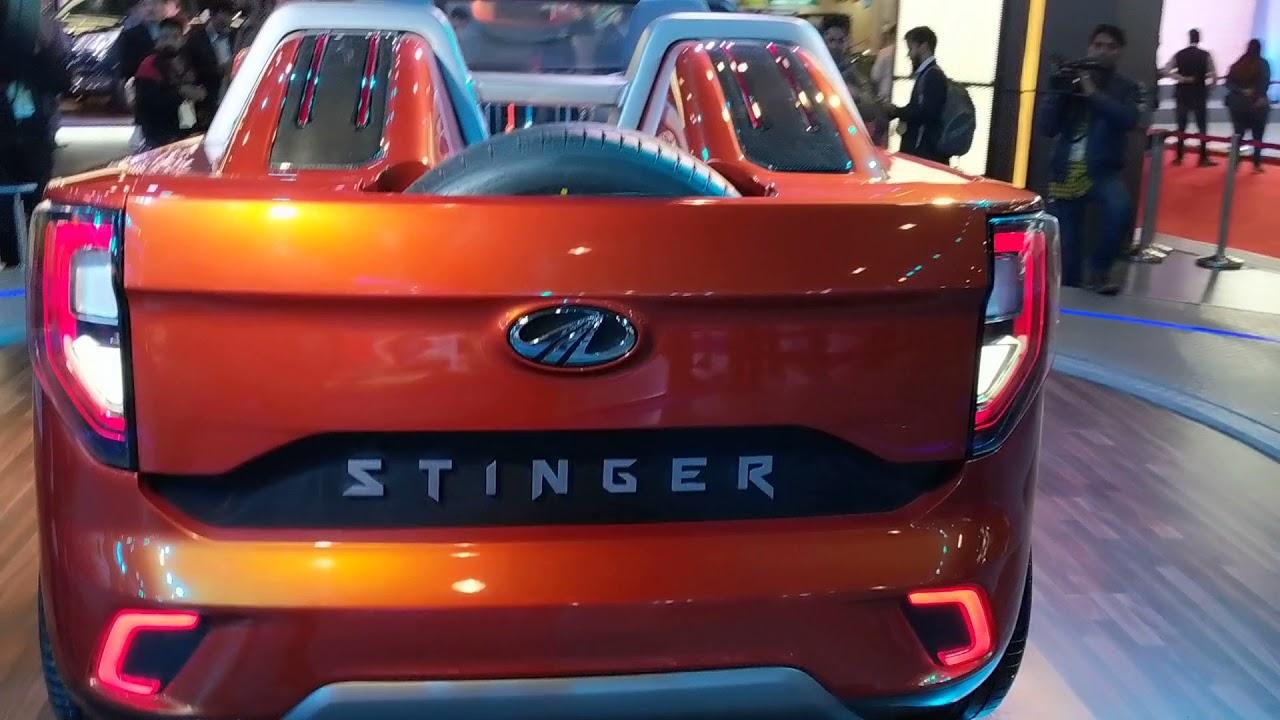 Mahindra Stinger Convertible Suv Auto Expo 2018 Motoroctane
