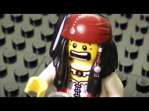 The Cult - She Sells Sanctuary (LEGO Music Video)
