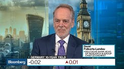 Negative Interest Rates 'Very Bad News for Europe,' Folkerts-Landau Says