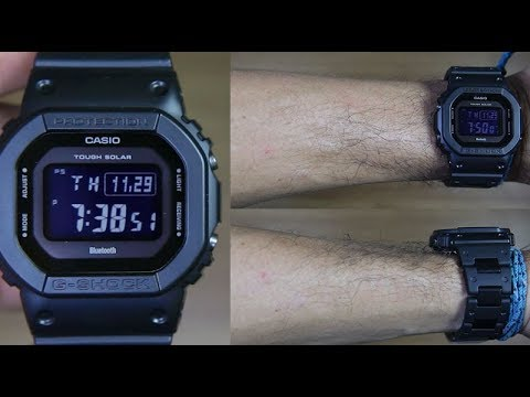 casio-g-shock-gw-b5600bc-1b-multiband-tough-solar---unboxing