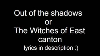 Out of the shadows (The Witches of East Canton) from dance moms + lyrics!