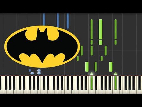 Batman Theme - Danny Elfman (Piano Tutorial)