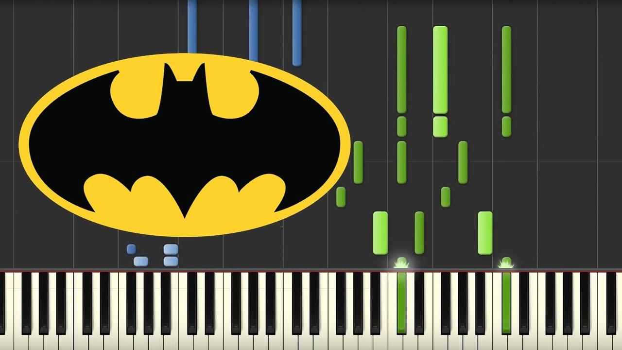 Gmail batman theme - Batman Theme Danny Elfman Piano Tutorial