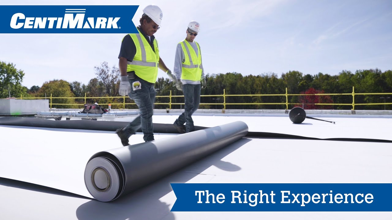 The Right Experience Centimark Commercial Roofing Services Youtube