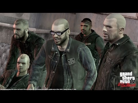 GTA 4 The Lost and Damned all cutscenes HD GAME