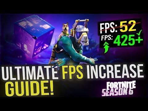 how to get better fortnite fps