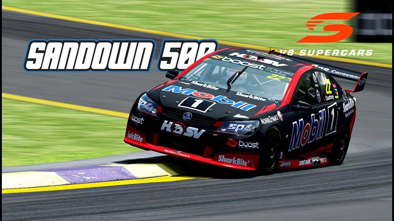 VASC: Sandown 500 (V8 Supercar @ Sandown) - YouTube on